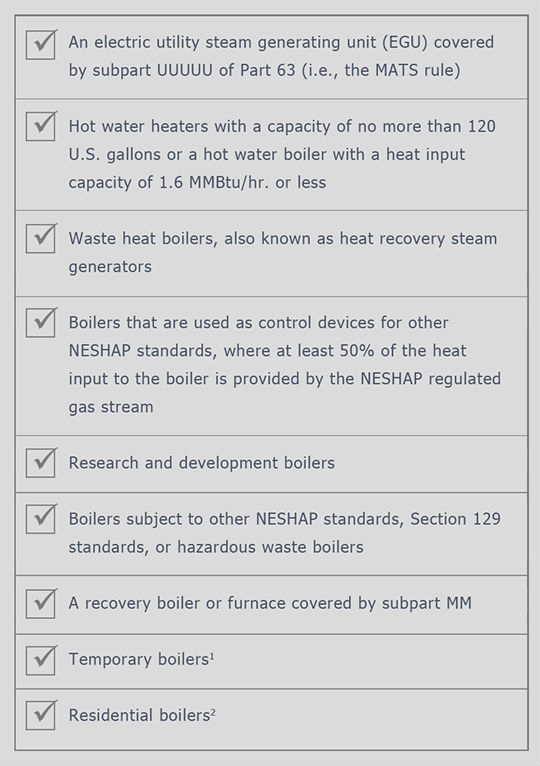 Boiler MACT | Major Vs Area Source Rule